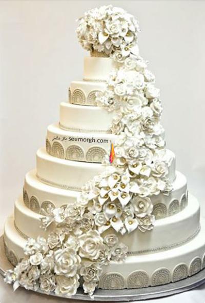کیک مراسم ازدواج چلسی کلینتون Chelsea Clinton ، دختر کلینتون