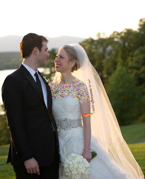 لباس عروس چلسی کلینتون Chelsea Clinton
