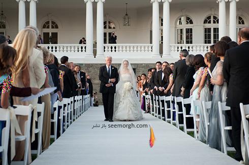 مراسم عروسی چلسی کلینتون Chelsea Clinton