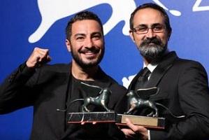 آنچه وحید جلیلوند و نوید محمدزاده پس از دریافت جایزه در جشنواره ونیز گفتند!