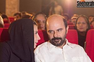 عکس هاي ليلا حاتمي و علي مصفا در آيين ديدار فيلم ليلا