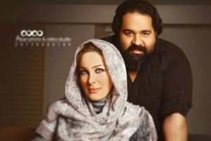 متن رضا صادقی برای تولد همسرش: تولد مبارک ماه بانوی من! عکس