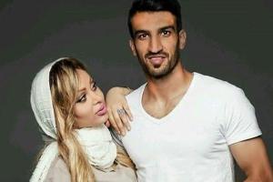 سورپرایز همسر حسین ماهینی برای جشن تولد وی! عکس