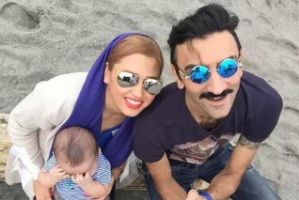 عکس وحید مهین دوست و همسرش