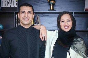 اشکان خطیبی و همسرش درحال آماده شدن برای جشن هالووین! عکس