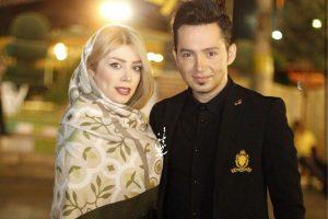 عکس جدید شهنام شهابی و همسرش