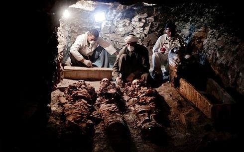 کشف گور 3500 ساله در مصر