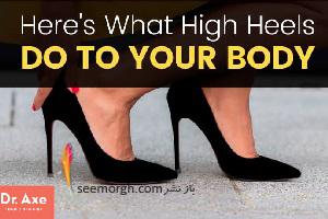 پوشیدن کفش های پاشنه بلند چه آسیب هایی به پاها می زنند؟