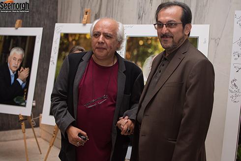 سیروس الوند در جشن آیین نکوداشت سینمای ایران