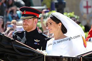 مراسم عروسی مگان مارکل:برند کفش، لباس عروس، کیک و جواهرات