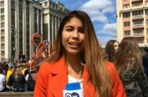 آزارجنسی خبرنگار هنگام اجرای زنده در روسیه