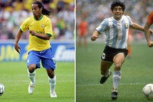 الگو های معروف ترین فوتبالیست های جهان چه کسانی بودند