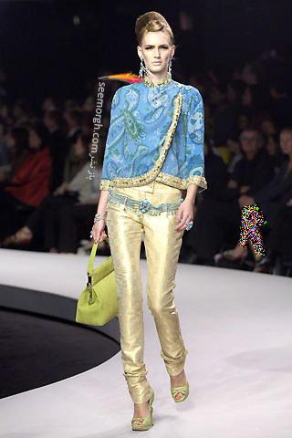 کلکسیون لباس دیور با طرح های بته جقه ای - عکس شماره 2
