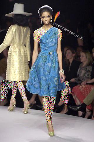 کلکسیون لباس دیور با طرح های بته جقه ای - عکس شماره 1