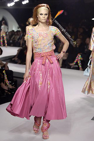 کلکسیون لباس دیور با طرح های بته جقه ای - عکس شماره 3