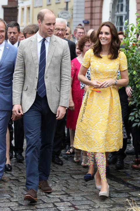 انتخاب و ست کردن پیراهن کوتاه به سبک Kate Middleton کیت میدلتون - 20 جولای 2017
