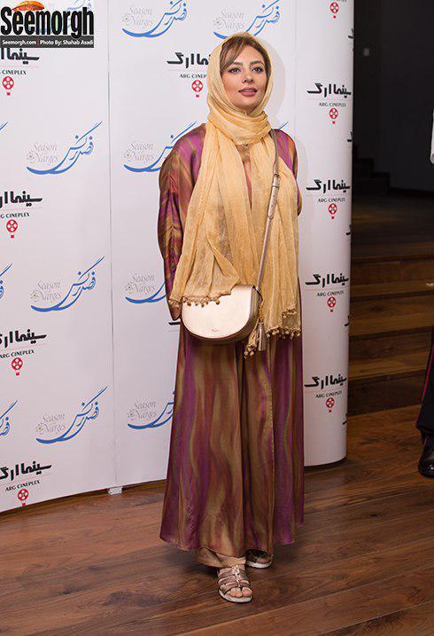 مدل مانتو یکتا ناصر در اکران مردمی فصل نرگس