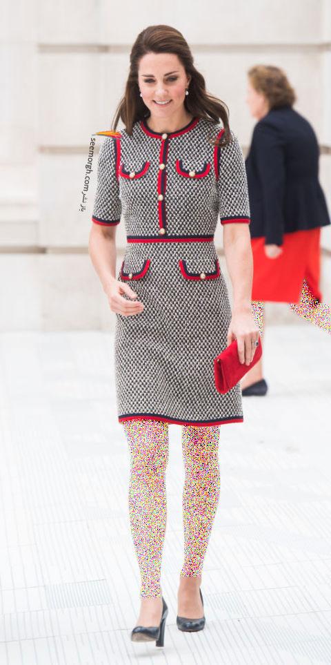 انتخاب و ست کردن پیراهن کوتاه به سبک Kate Middleton کیت میدلتون - 29 ژوئن 2017