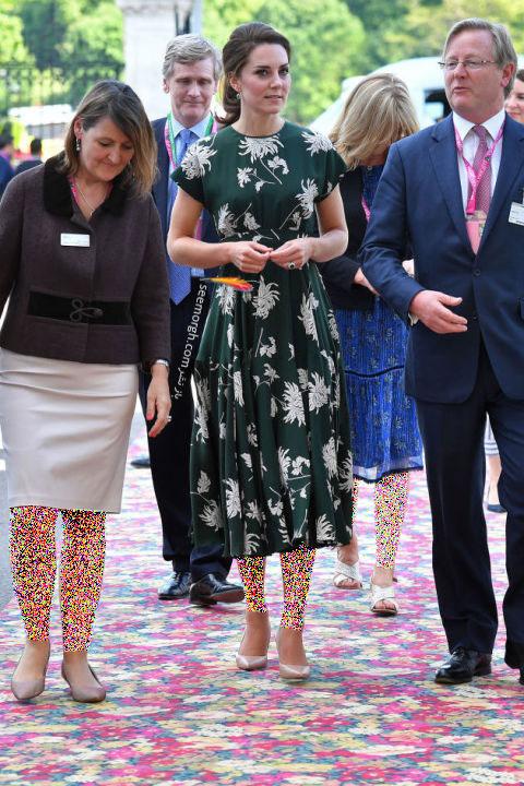 انتخاب و ست کردن پیراهن کوتاه به سبک Kate Middleton کیت میدلتون - 22 می 2017
