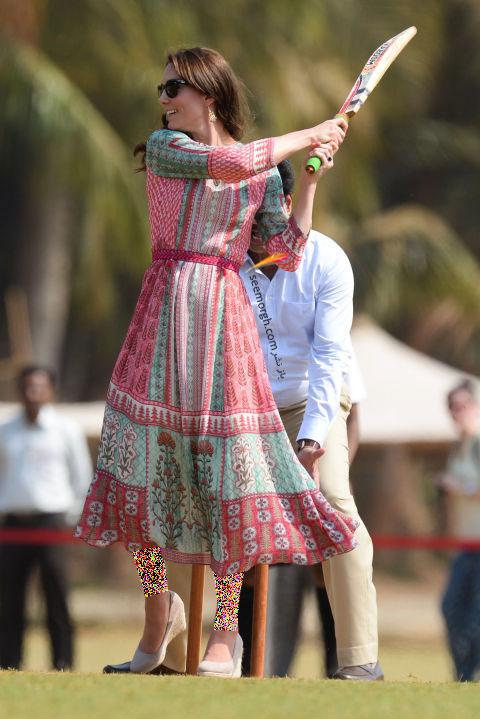 انتخاب و ست کردن پیراهن کوتاه به سبک Kate Middleton کیت میدلتون - 10 آوریل 2016