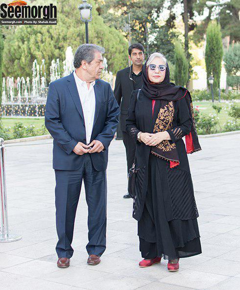مدل مانتو رخشان بنی اعتماد در اختتامیه دومین جشنواره فیلم سلامت