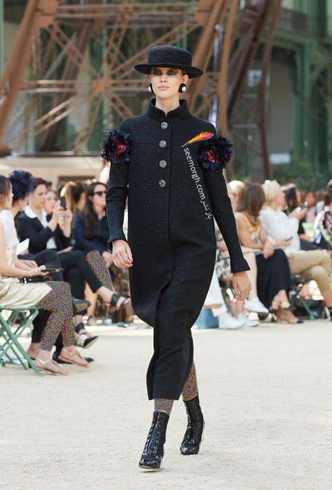 پالتو زنانه شنل Chanel براي زمستان 2017 - عکس شماره 10