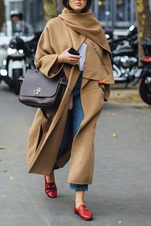 مدل پالتو زنانه براي پاييز 2017 به انتخاب مجله هارپر بازار HarperBazzar - عکس شماره 2