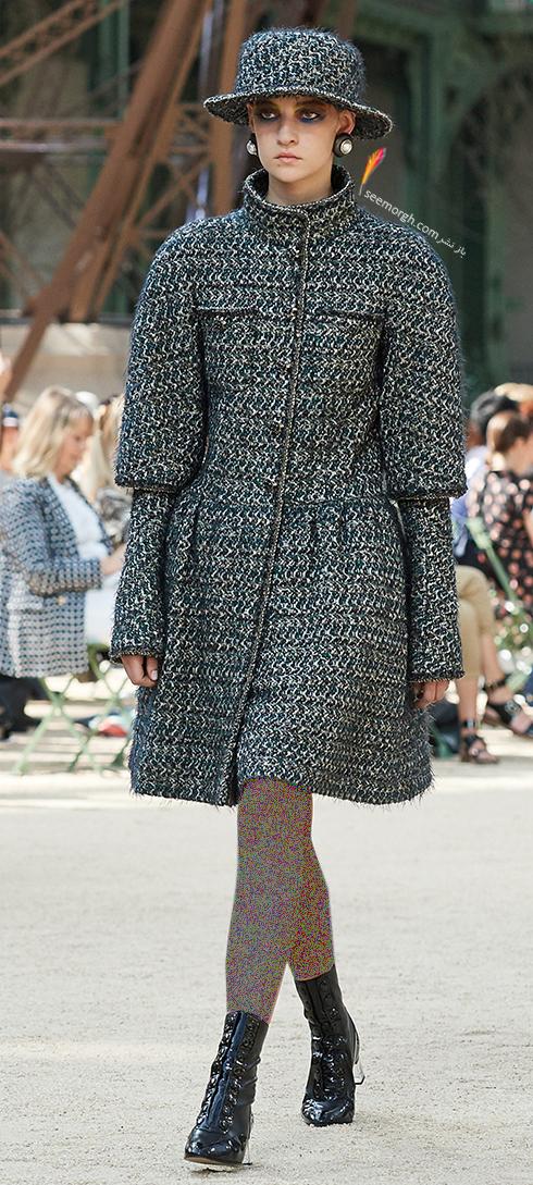 پالتو زنانه شنل Chanel براي زمستان 2017 - عکس شماره 9