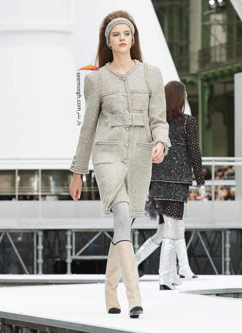 پالتو زنانه شنل Chanel براي زمستان 2017 - عکس شماره 5