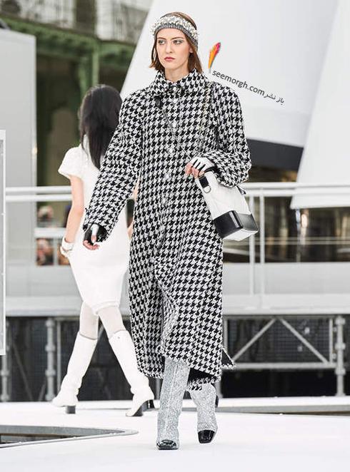 پالتو زنانه شنل Chanel براي زمستان 2017 - عکس شماره 4