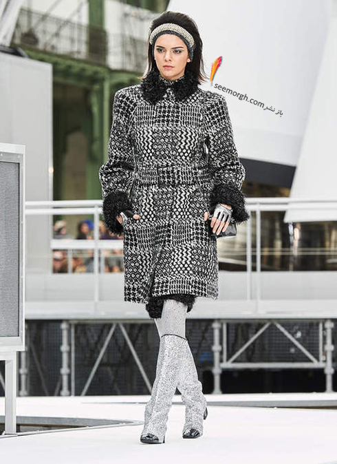 پالتو زنانه شنل Chanel براي زمستان 2017 - عکس شماره 3