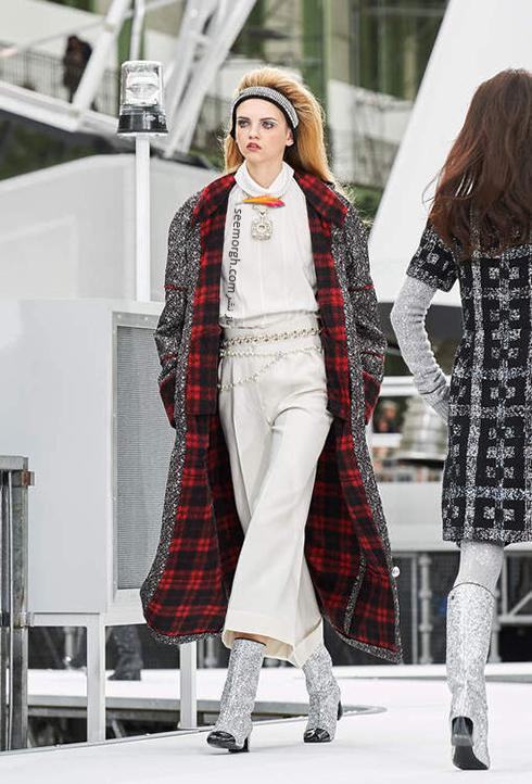 پالتو زنانه شنل Chanel براي زمستان 2017 - عکس شماره 2