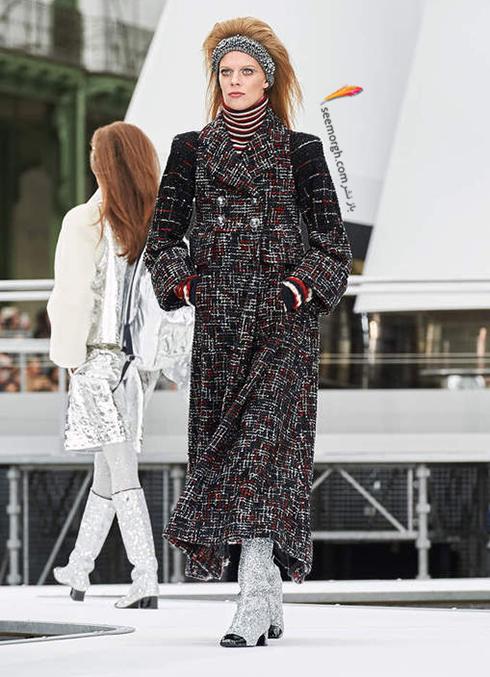 پالتو زنانه شنل Chanel براي زمستان 2017 - عکس شماره 1