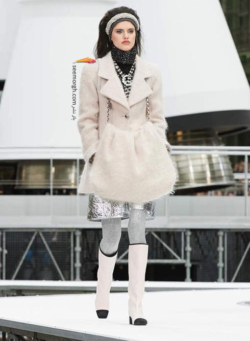 پالتو زنانه شنل Chanel براي زمستان 2017 - عکس شماره 12