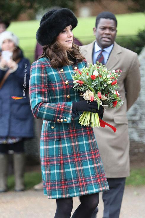 عکس کيت ميدلتون Kate Middleton در روز کريسمس