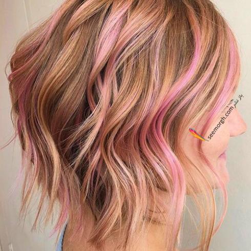 رنگ مو بلوند رزگلد براي سال نو ميلادي - عکس شماره 3