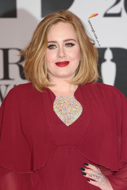 مدل مو کوتاه زمستاني به سبک ادل Adele