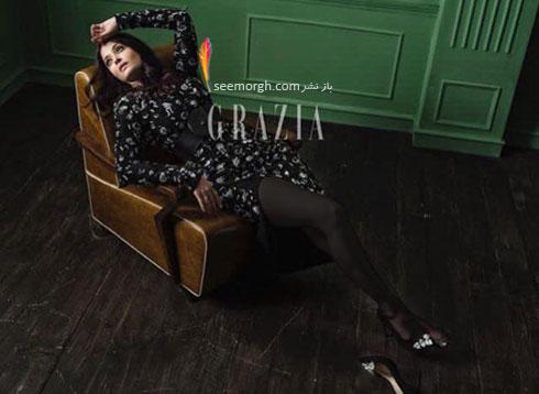 عکس های آیشواریا رای Aishwarya Rai روی مجله مد Grazia - عکس شماره 3