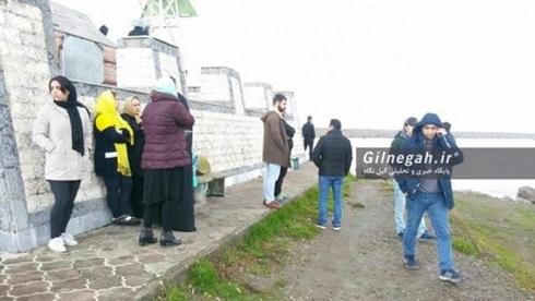 حادثه برای کشتی جنگی ایرانی در بندر انزلی