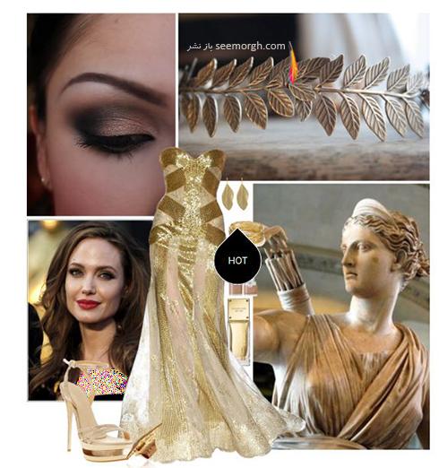 ست کردن لباس شب به سبک آنجلينا جولي Anjelina Jolie - عکس شماره 9