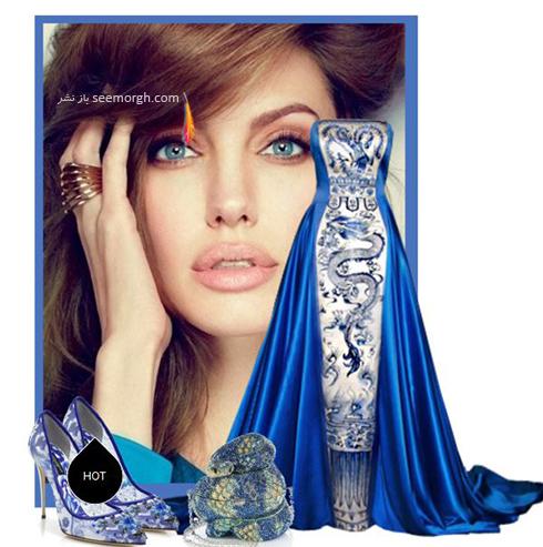 ست کردن لباس شب به سبک آنجلينا جولي Anjelina Jolie - عکس شماره 7