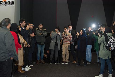 اکران مردمی آینه بغل با حضور عوامل
