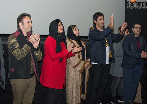 اکران مردمی آینه بغل با حضور عوامل و بازیگران