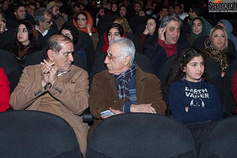مسعود رایگان در اکران مردمی آینه بغل