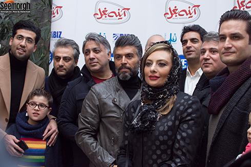 اکران مردمی آینه بغل در ایوان شمس