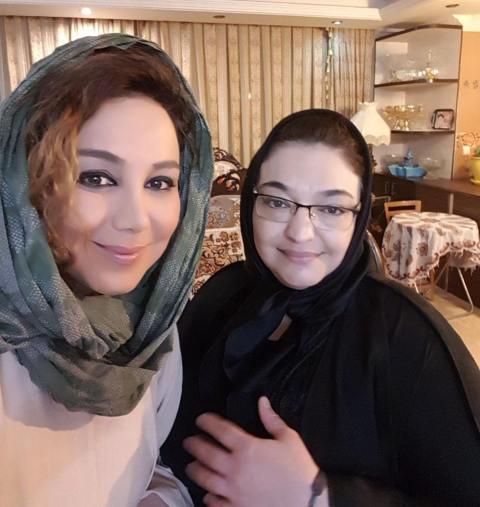 عکس بهنوش بختیاری و خواهرش