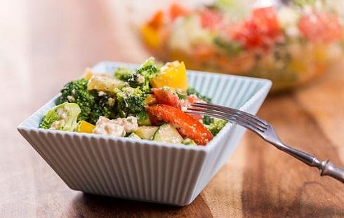 7. برای از بین بردن چربی شکم در انتخاب سبزیجات گزینشی عمل کنید