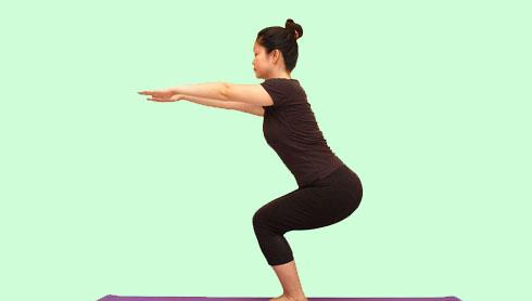 کوچک کردن شکم با حرکت وضعیت صندلی
