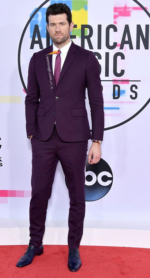 مدل کت و شلوار بيلي ايکنر Billy Eichner در American Music Awards 2017