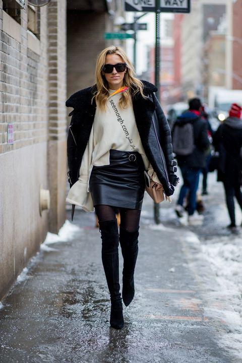 ست کردن بوت زمستاني به پيشنهاد مجله مد بازار Harpers Bazaar - عکس شماره 9